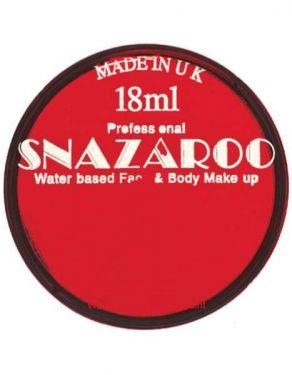 Snazaroo Fancy Dress Make Up Face Paint - Red